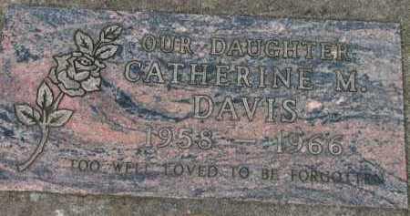 DAVIS, CATHERINE M. - Washington County, Oregon | CATHERINE M. DAVIS - Oregon Gravestone Photos
