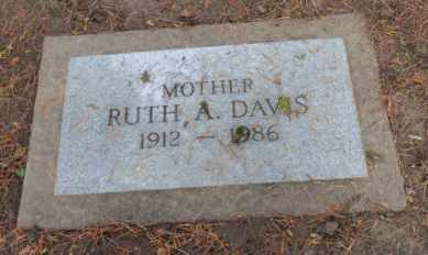 DAVIS, RUTH A - Washington County, Oregon | RUTH A DAVIS - Oregon Gravestone Photos
