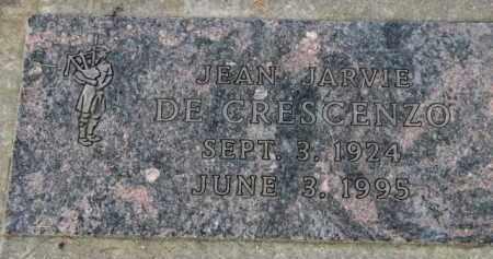 DE CRESCENZO, JEAN JARVIE - Washington County, Oregon | JEAN JARVIE DE CRESCENZO - Oregon Gravestone Photos