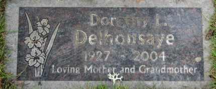 DELHOUSAYE, DOROTHY L. - Washington County, Oregon | DOROTHY L. DELHOUSAYE - Oregon Gravestone Photos
