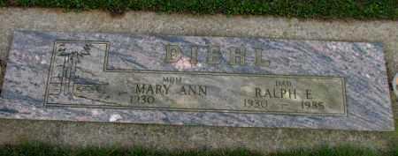 DIEHL, RALPH E. - Washington County, Oregon   RALPH E. DIEHL - Oregon Gravestone Photos