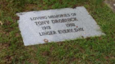 DROBNICK, TONY - Washington County, Oregon | TONY DROBNICK - Oregon Gravestone Photos