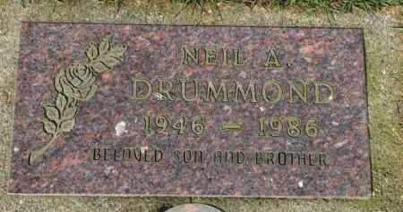 DRUMMOND, NEIL A. - Washington County, Oregon | NEIL A. DRUMMOND - Oregon Gravestone Photos