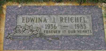 EDWINA J., REICHEL - Washington County, Oregon | REICHEL EDWINA J. - Oregon Gravestone Photos