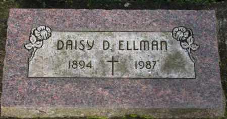 ELLMAN, DAISY D. - Washington County, Oregon   DAISY D. ELLMAN - Oregon Gravestone Photos