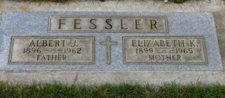 FESSLER, ELIZABETH K. - Washington County, Oregon | ELIZABETH K. FESSLER - Oregon Gravestone Photos