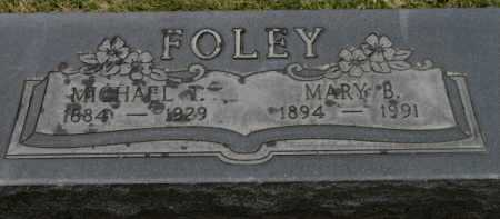 FOLEY, MICHAEL T. - Washington County, Oregon   MICHAEL T. FOLEY - Oregon Gravestone Photos