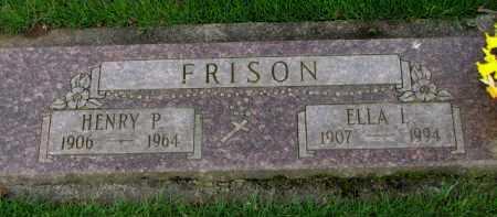 FRISON, HENRY P. - Washington County, Oregon   HENRY P. FRISON - Oregon Gravestone Photos