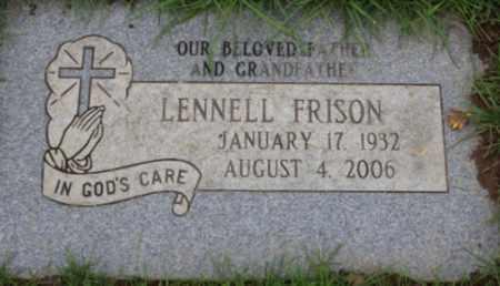 FRISON, LENNELL - Washington County, Oregon | LENNELL FRISON - Oregon Gravestone Photos