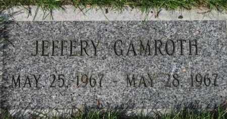 GAMROTH, JEFFERY - Washington County, Oregon | JEFFERY GAMROTH - Oregon Gravestone Photos