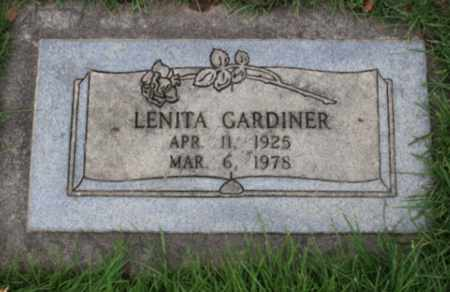 GARDINER, LENITA - Washington County, Oregon | LENITA GARDINER - Oregon Gravestone Photos