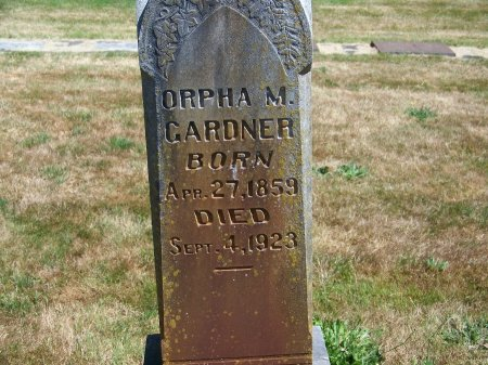 GARDNER, ORPHA M - Washington County, Oregon | ORPHA M GARDNER - Oregon Gravestone Photos