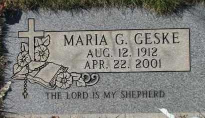 GESKE, MARIA G. - Washington County, Oregon | MARIA G. GESKE - Oregon Gravestone Photos