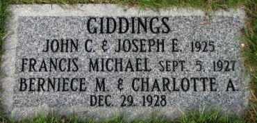 GIDDINGS, JOSEPH E. - Washington County, Oregon | JOSEPH E. GIDDINGS - Oregon Gravestone Photos