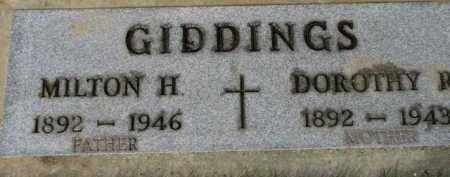 GIDDINGS, MILTON H. - Washington County, Oregon | MILTON H. GIDDINGS - Oregon Gravestone Photos