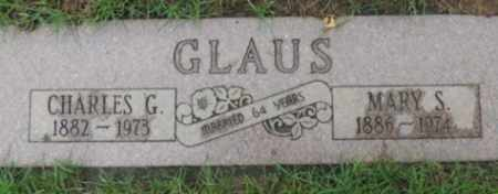 GLAUS, CHARLES G - Washington County, Oregon | CHARLES G GLAUS - Oregon Gravestone Photos