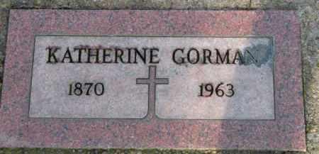 GORMAN, KATHERINE - Washington County, Oregon | KATHERINE GORMAN - Oregon Gravestone Photos
