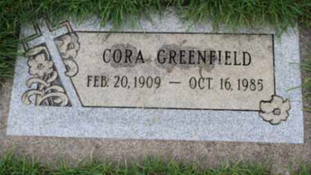 GREENFIELD, CORA - Washington County, Oregon | CORA GREENFIELD - Oregon Gravestone Photos