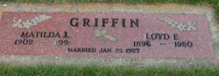 GRIFFIN, MATILDA L. - Washington County, Oregon | MATILDA L. GRIFFIN - Oregon Gravestone Photos