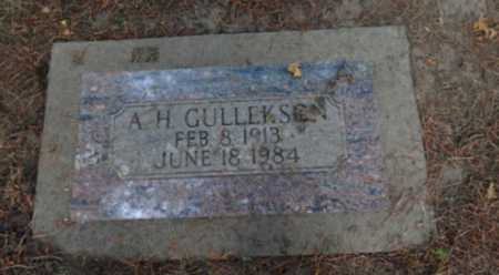 GULLEKSON, A. H. - Washington County, Oregon | A. H. GULLEKSON - Oregon Gravestone Photos