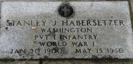 HABERSETZER, STANLEY J. - Washington County, Oregon | STANLEY J. HABERSETZER - Oregon Gravestone Photos