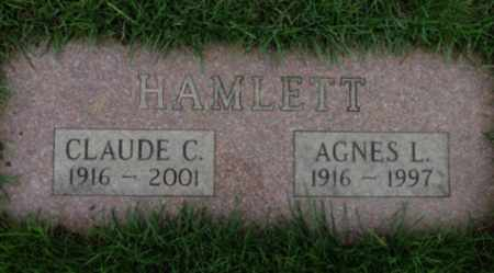 HAMLETT, CLAUDE C - Washington County, Oregon | CLAUDE C HAMLETT - Oregon Gravestone Photos