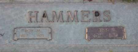 HAMMERS, ROY M - Washington County, Oregon   ROY M HAMMERS - Oregon Gravestone Photos