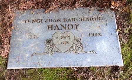 BARCHARED HANDY, TUNGI JUAN - Washington County, Oregon | TUNGI JUAN BARCHARED HANDY - Oregon Gravestone Photos