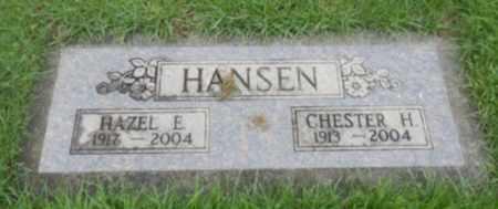 HANSEN, HAZEL E - Washington County, Oregon | HAZEL E HANSEN - Oregon Gravestone Photos