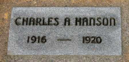 HANSON, CHARLES A. - Washington County, Oregon   CHARLES A. HANSON - Oregon Gravestone Photos