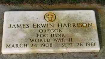 HARRISON, JAMES ERWIN - Washington County, Oregon | JAMES ERWIN HARRISON - Oregon Gravestone Photos