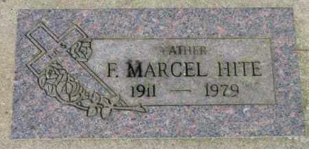 HITE, F. MARCEL - Washington County, Oregon | F. MARCEL HITE - Oregon Gravestone Photos