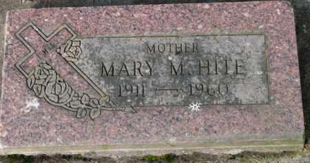 HITE, MARY M. - Washington County, Oregon   MARY M. HITE - Oregon Gravestone Photos