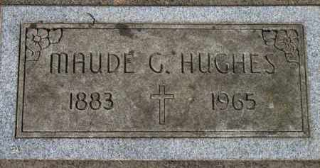 HUGHES, MAUDE G. - Washington County, Oregon | MAUDE G. HUGHES - Oregon Gravestone Photos