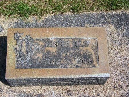 RILEY IVIE, JENNIE - Washington County, Oregon   JENNIE RILEY IVIE - Oregon Gravestone Photos