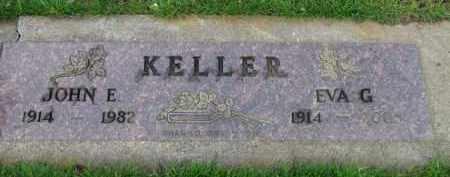 KELLER, EVA G. - Washington County, Oregon   EVA G. KELLER - Oregon Gravestone Photos