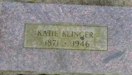 KLINGER, KATIE - Washington County, Oregon | KATIE KLINGER - Oregon Gravestone Photos