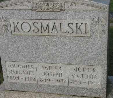 KOSMALSKI, JOSEPH - Washington County, Oregon   JOSEPH KOSMALSKI - Oregon Gravestone Photos