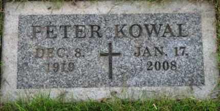 KOWAL, PETER - Washington County, Oregon | PETER KOWAL - Oregon Gravestone Photos