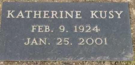 KUSY, KATHERINE - Washington County, Oregon   KATHERINE KUSY - Oregon Gravestone Photos