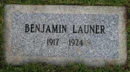 LAUNER, BENJAMIN - Washington County, Oregon | BENJAMIN LAUNER - Oregon Gravestone Photos