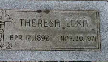 LEXA, THERESA - Washington County, Oregon   THERESA LEXA - Oregon Gravestone Photos