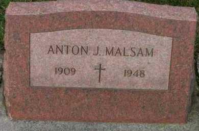 MALSAM, ANTON J. - Washington County, Oregon   ANTON J. MALSAM - Oregon Gravestone Photos