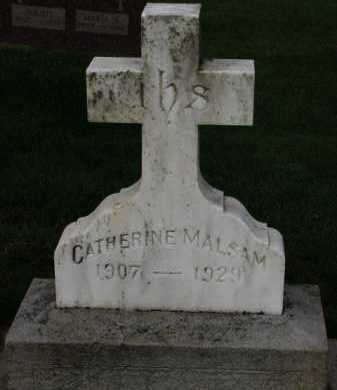 MALSAM, CATHERINE - Washington County, Oregon | CATHERINE MALSAM - Oregon Gravestone Photos