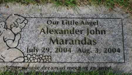 MARANDAS, ALEXANDER JOHN - Washington County, Oregon   ALEXANDER JOHN MARANDAS - Oregon Gravestone Photos