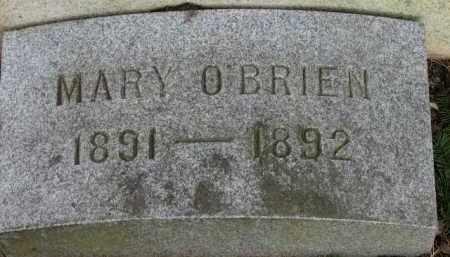 O'BRIEN, MARY - Washington County, Oregon   MARY O'BRIEN - Oregon Gravestone Photos