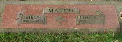 MASON, ARTHUR L. - Washington County, Oregon   ARTHUR L. MASON - Oregon Gravestone Photos