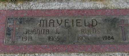 MAYFIELD, JUANITA J. - Washington County, Oregon | JUANITA J. MAYFIELD - Oregon Gravestone Photos