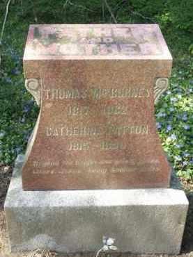 PATTON MCBURNEY, CATHERINE - Washington County, Oregon | CATHERINE PATTON MCBURNEY - Oregon Gravestone Photos