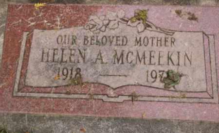MCMEEKIN, HELEN A - Washington County, Oregon | HELEN A MCMEEKIN - Oregon Gravestone Photos